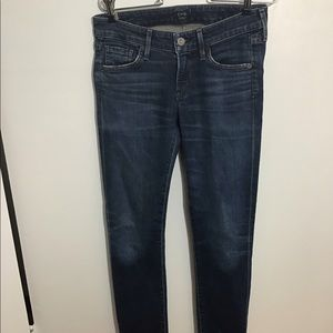 Citizens Of Humanity Low Rise Skinny Jeans S/26